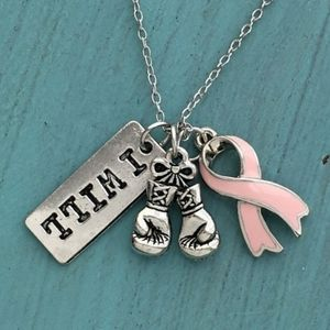 📣 COMING SOON📣I WILL 🥊🥊 Awareness Necklace